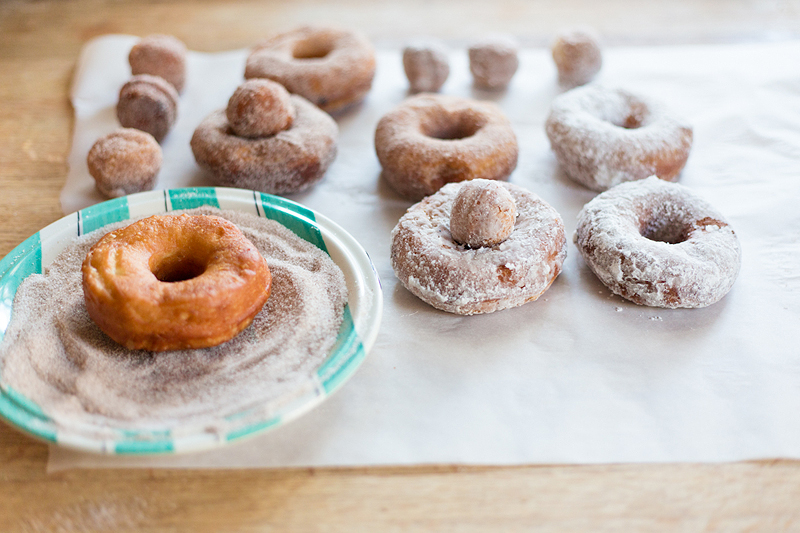 finished biscuit donuts