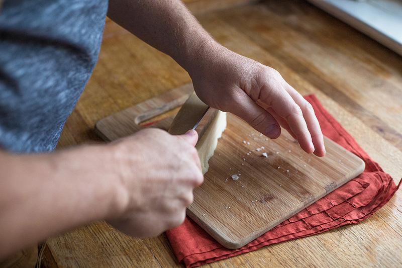 Easy Pasta Carbonara - cheese