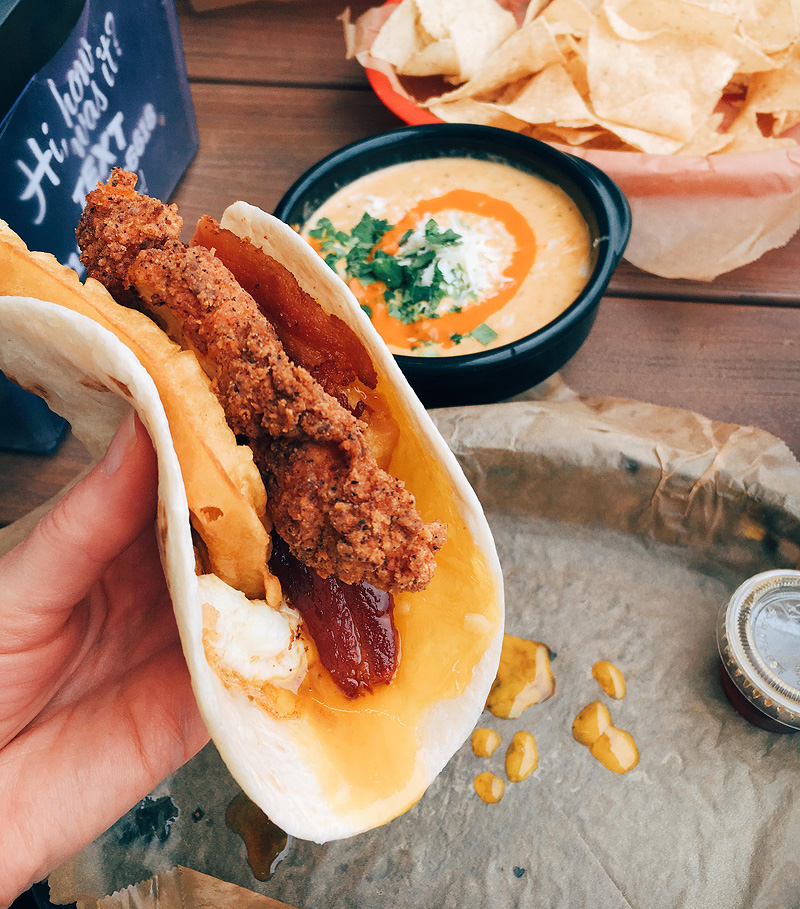 The Roscoe Taco at Torchy's