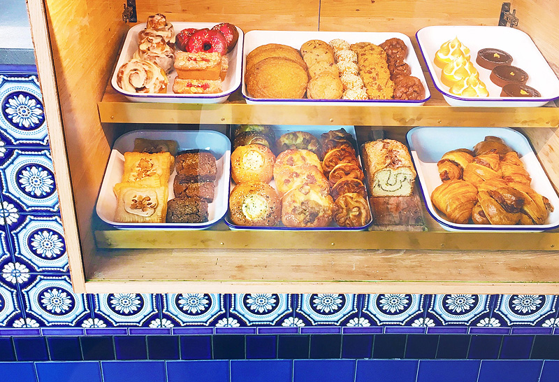 pastry case