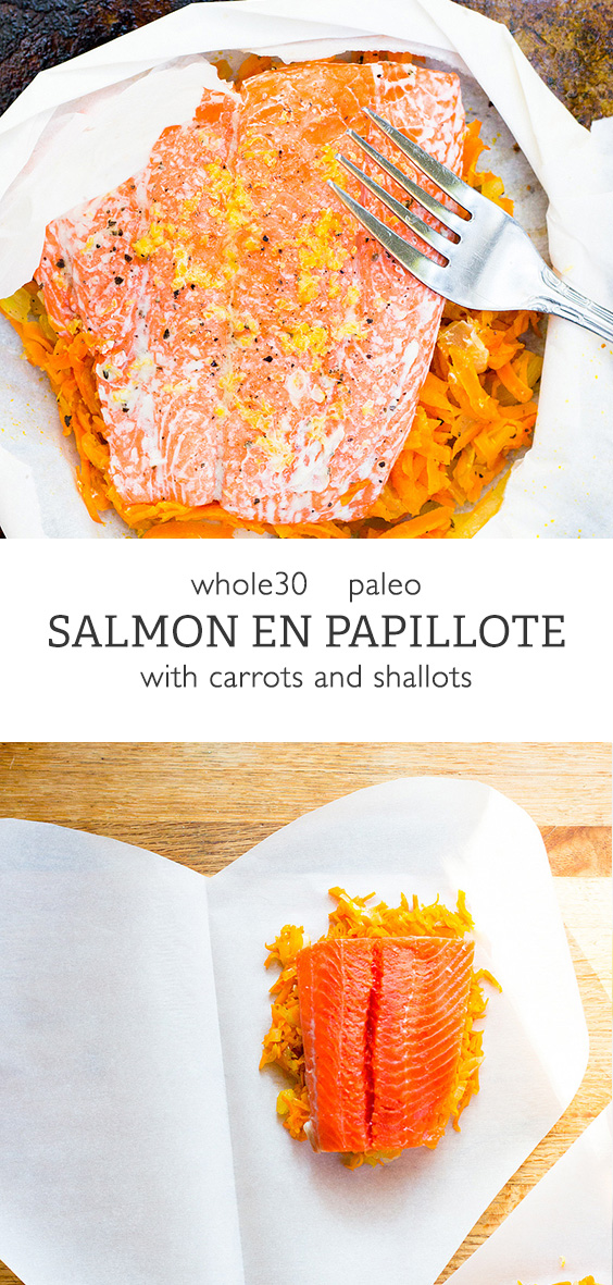 Salmon en Papillote - whole30 salmon dish