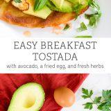Crispy Breakfast Tostada