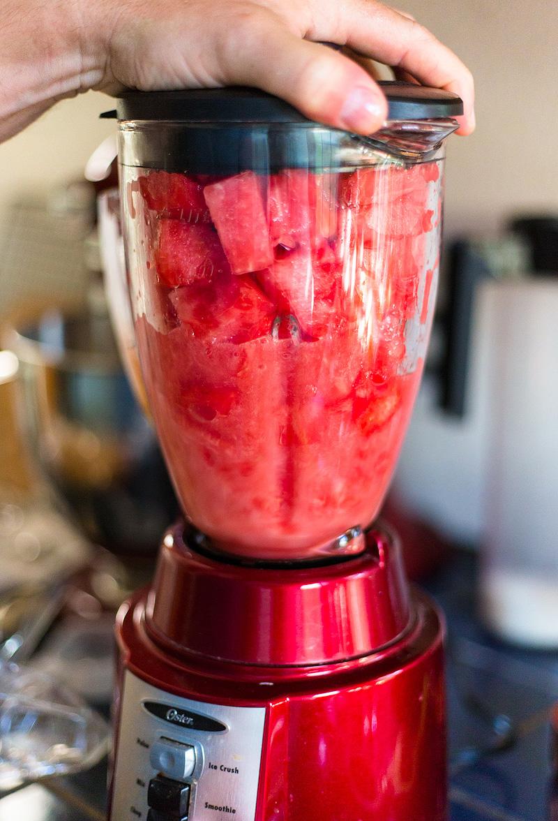 how to make watermelon aqua fresca