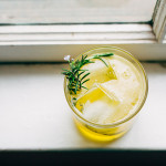 rosemary bees knees cocktail