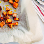 coconut oil sweet potatoes