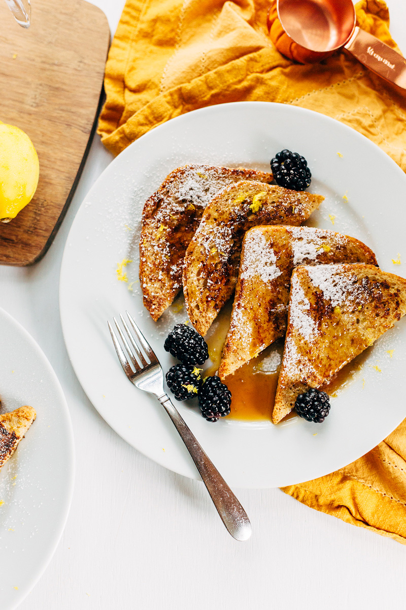 french toast for two from above