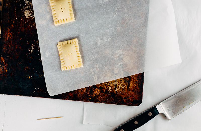making pop tarts
