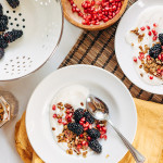 granola breakfast bowl