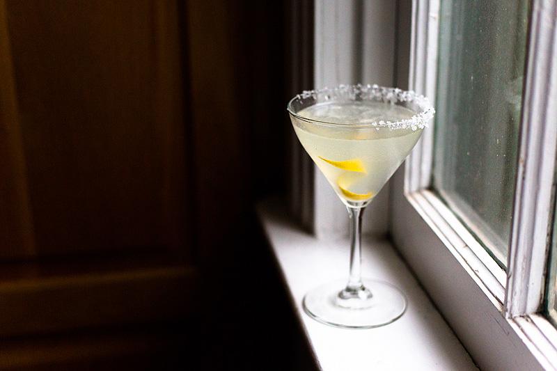 martini on the windowill