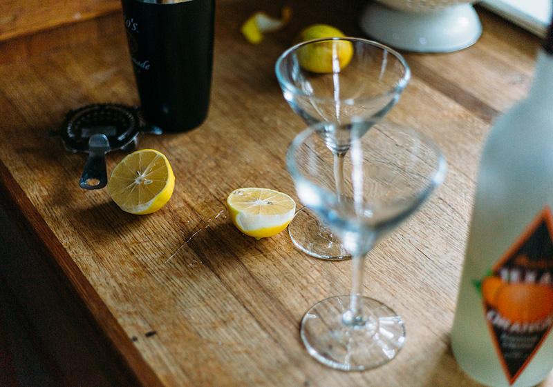 ingredients for lemon drop