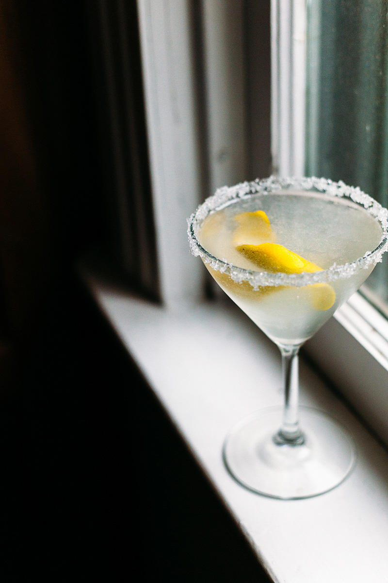 Meyer Lemon Drop Cocktail