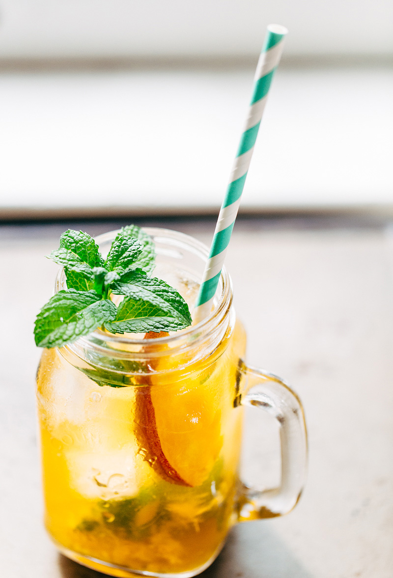Peach Iced Tea from Food Banjo