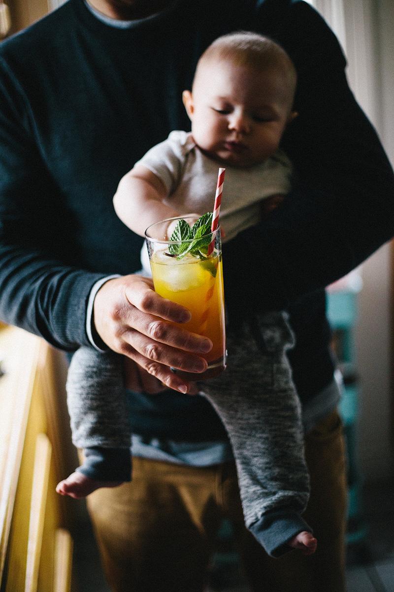 Ginger beer cocktail