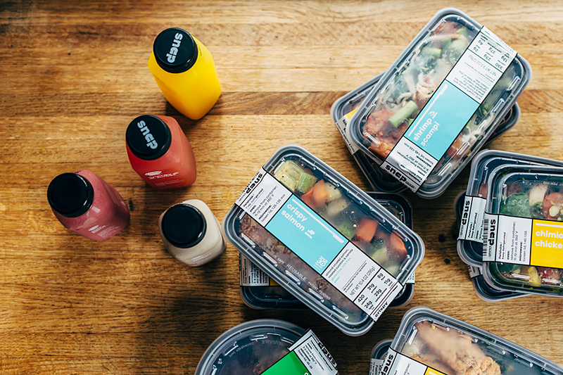 snap kitchen's meal plans