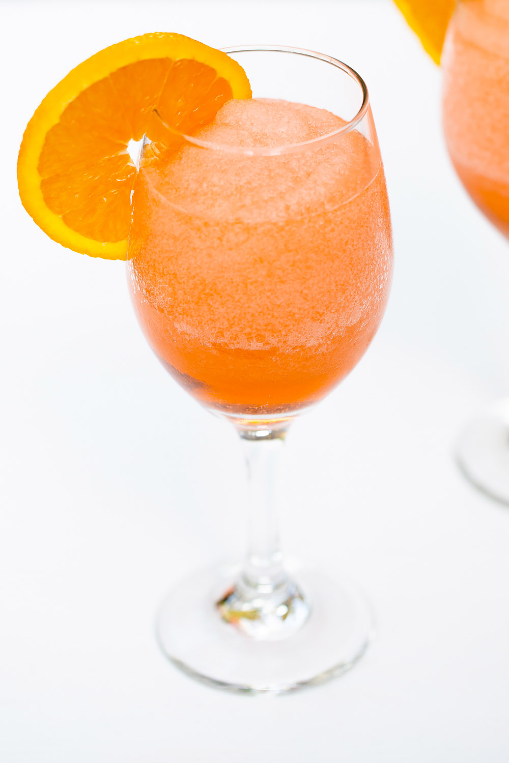 Frozen Aperol Spritz Cocktail