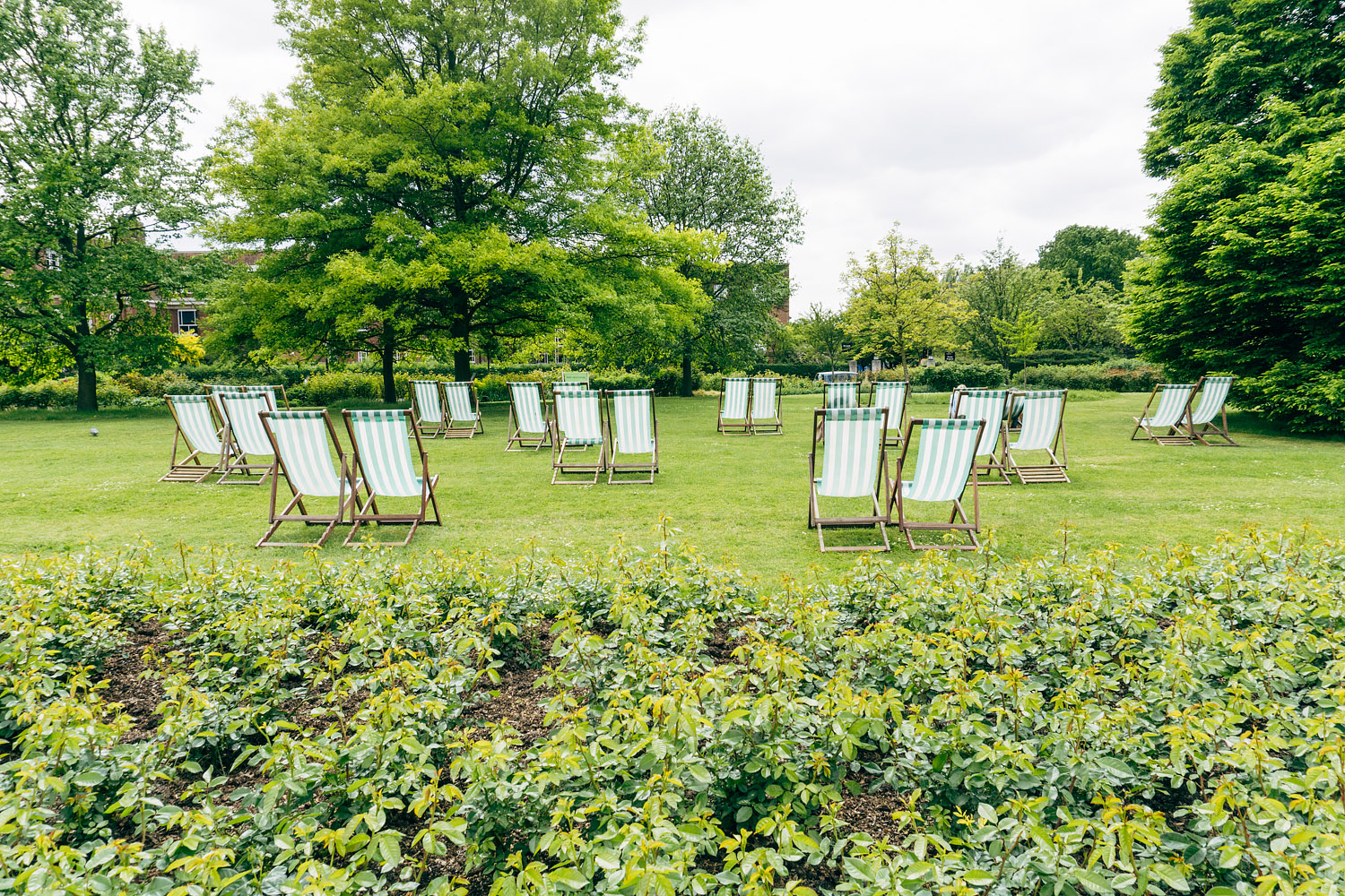 Striped Chairs in Regent's Park