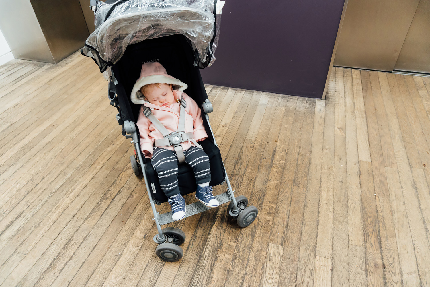 Baby at the Tate Modern