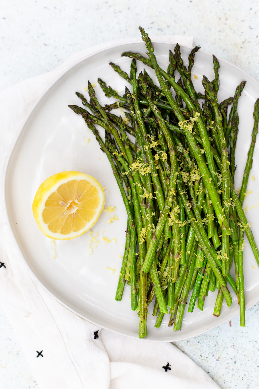 Roasted Asparagus with Lemon Zest