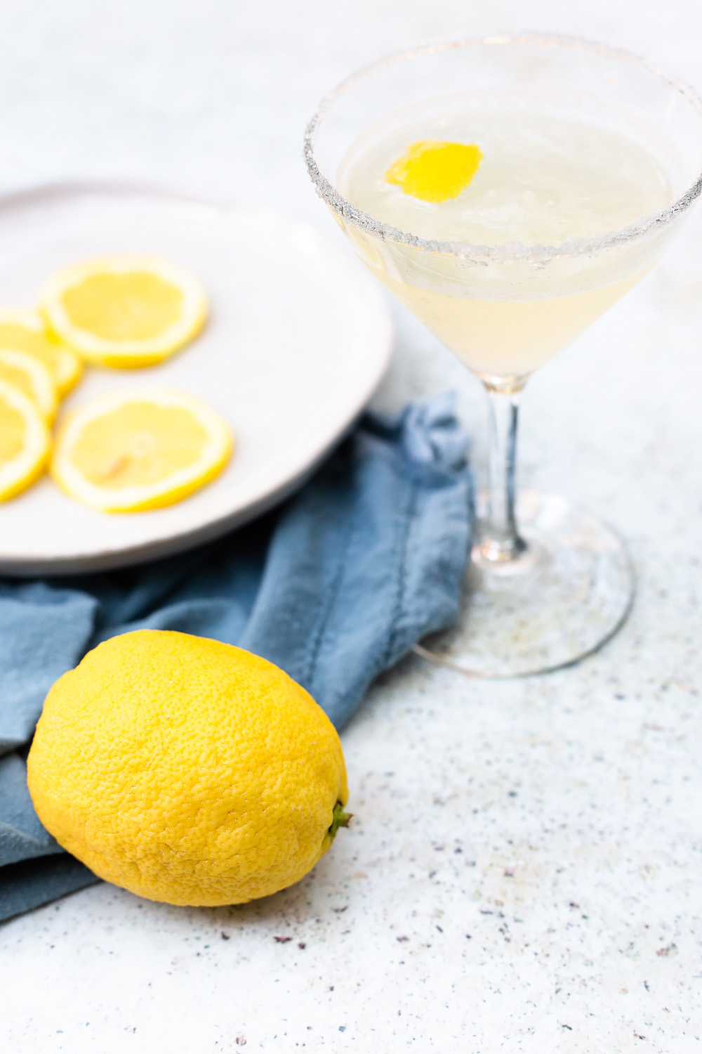 Lemon Drop Mocktail