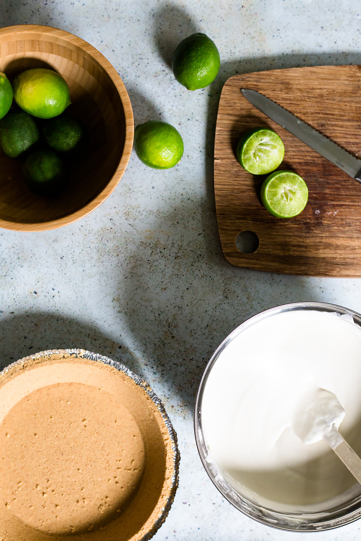 Making Limeade Pie