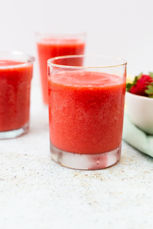 Strawberry Slushies