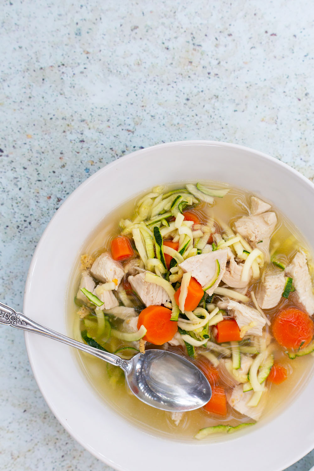 Chicken Zoodle Soup