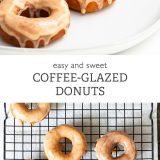 Easy Coffee-Glazed Donuts