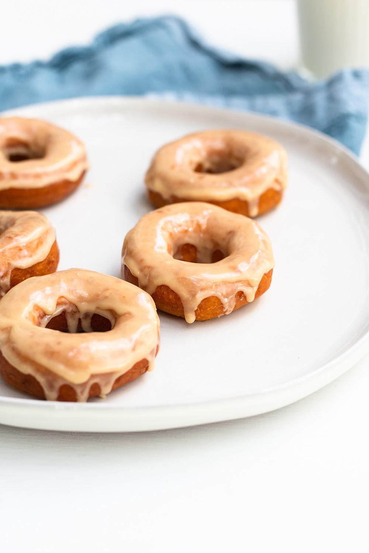 Coffee Glazed Donuts