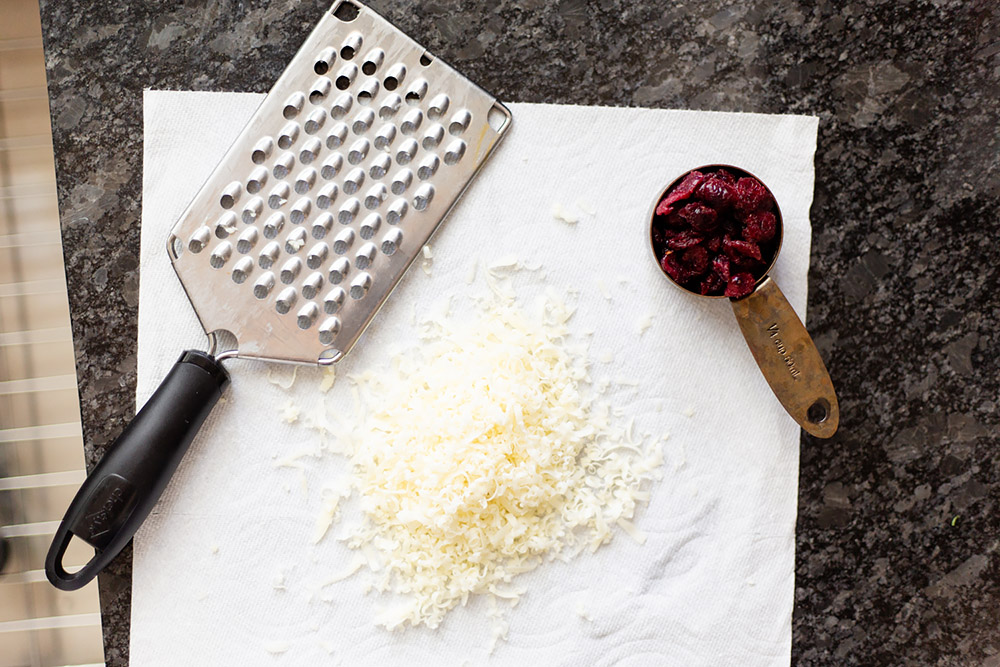cheese and cranberries