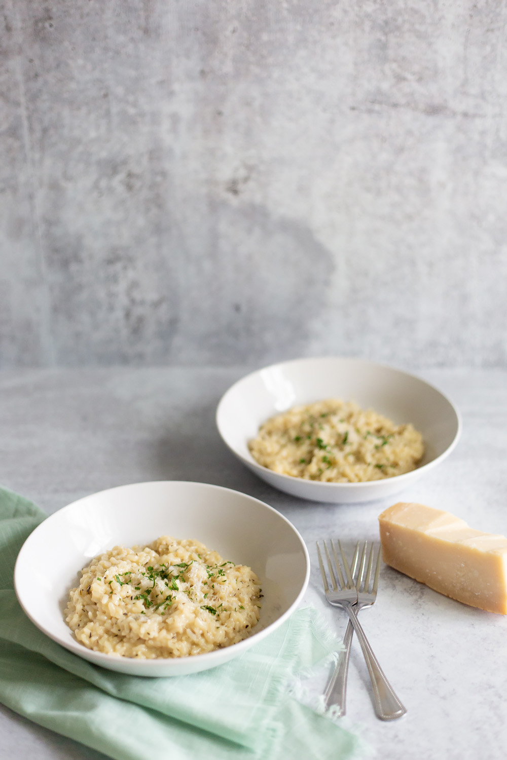 Instant Pot Parmesan Risotto Recipe