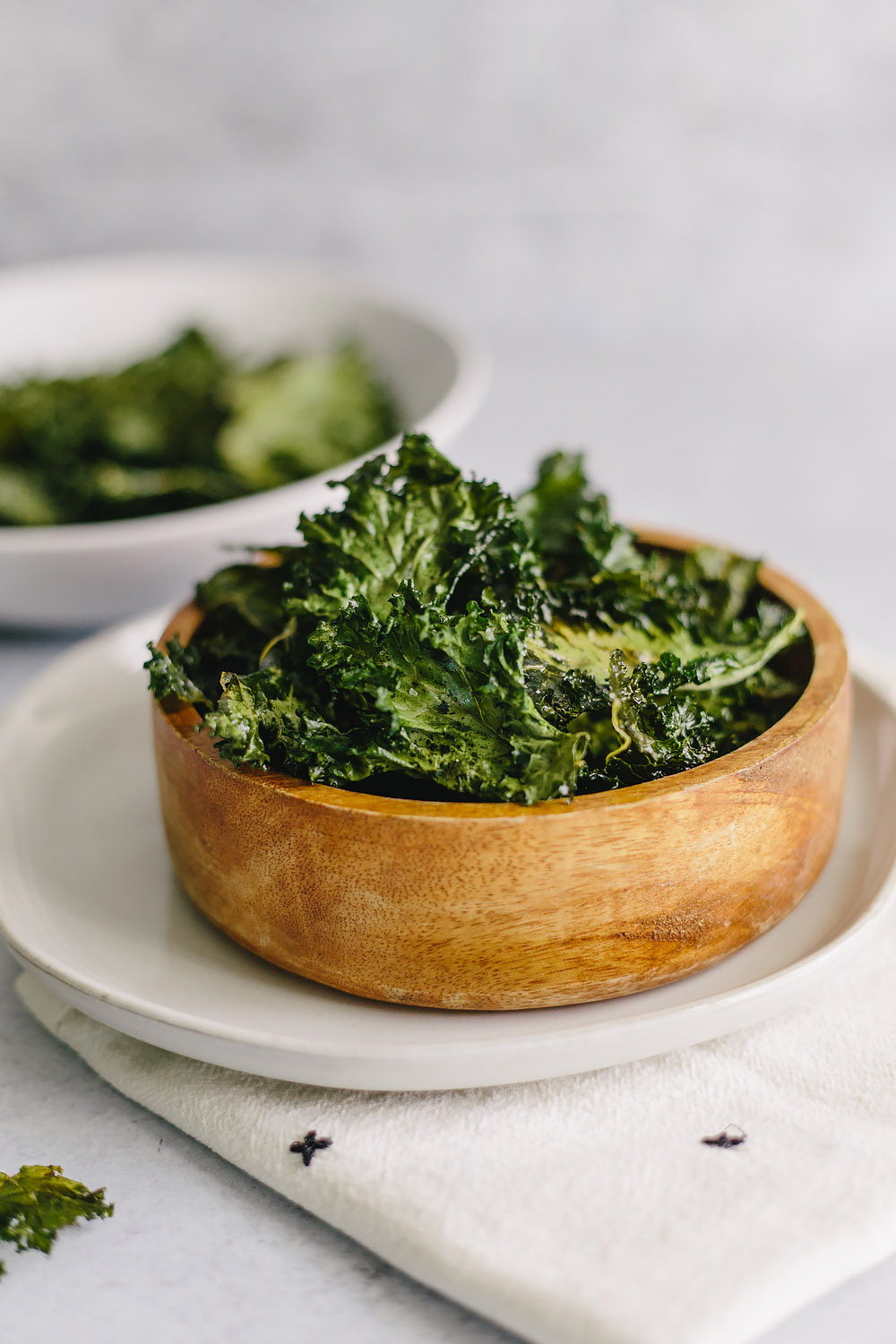 sea salt kale chips
