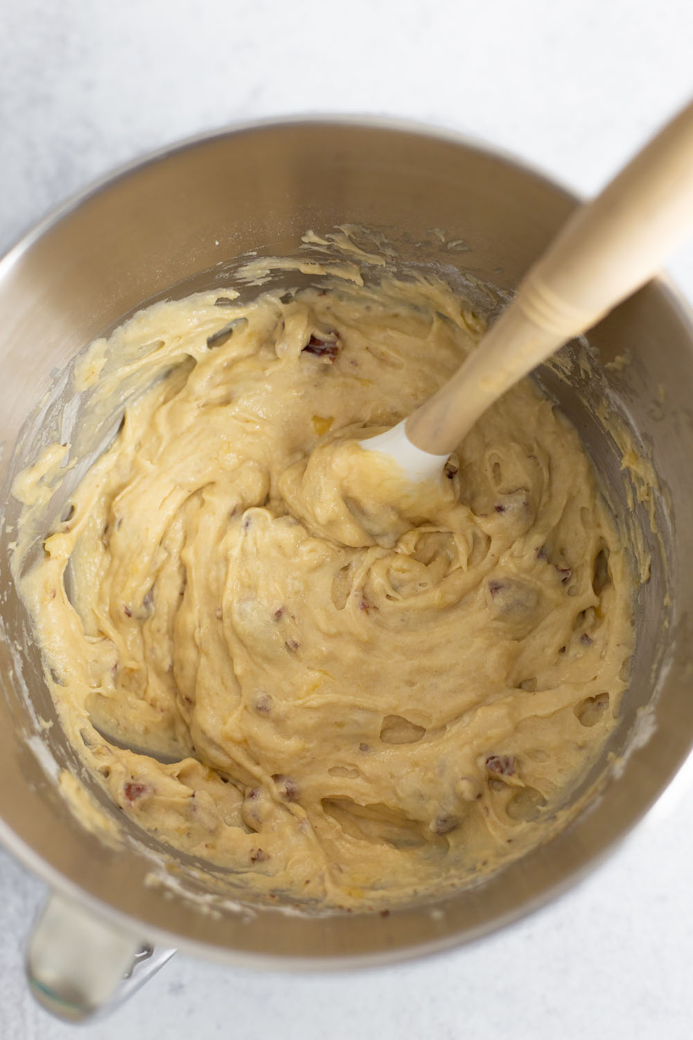 banana bread mixture