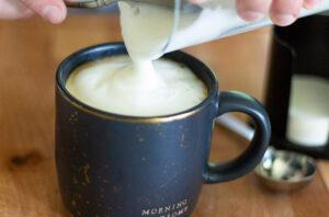 aeropress cappuccino