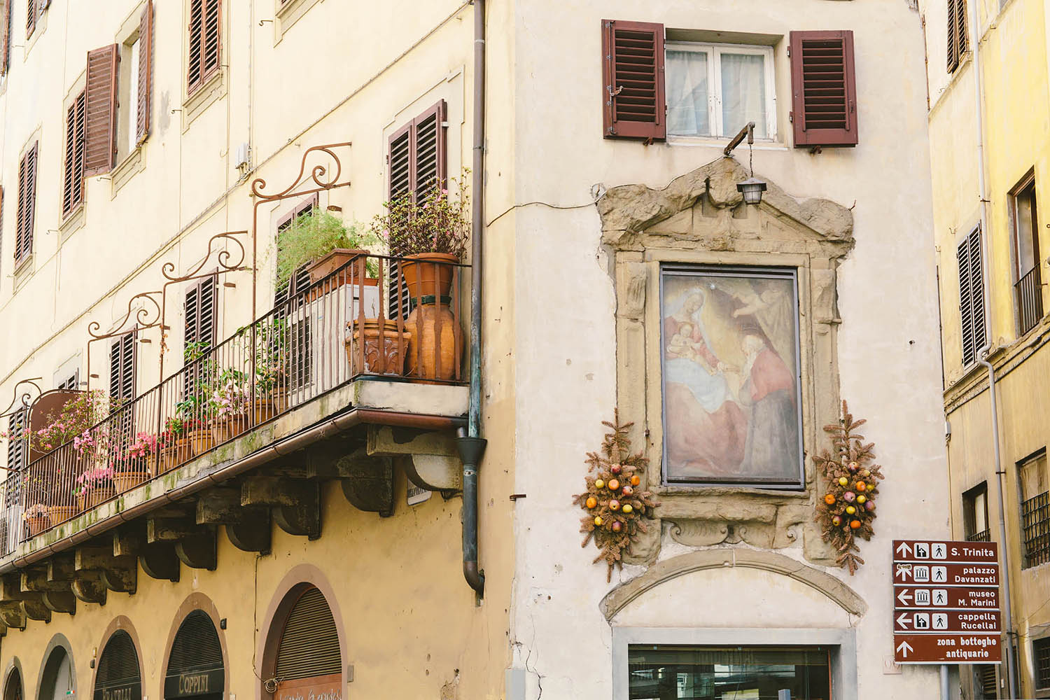 building facade in italy