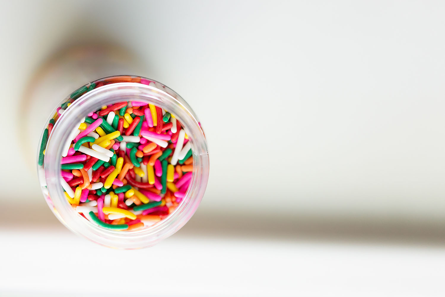 sprinkles in a jar