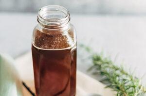 rosemary honey syrup