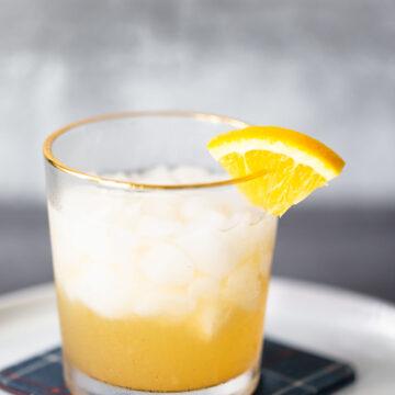 orange cinnamon mocktail