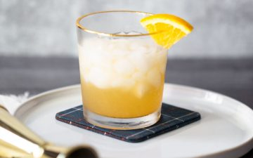 orange cinnamon mocktail