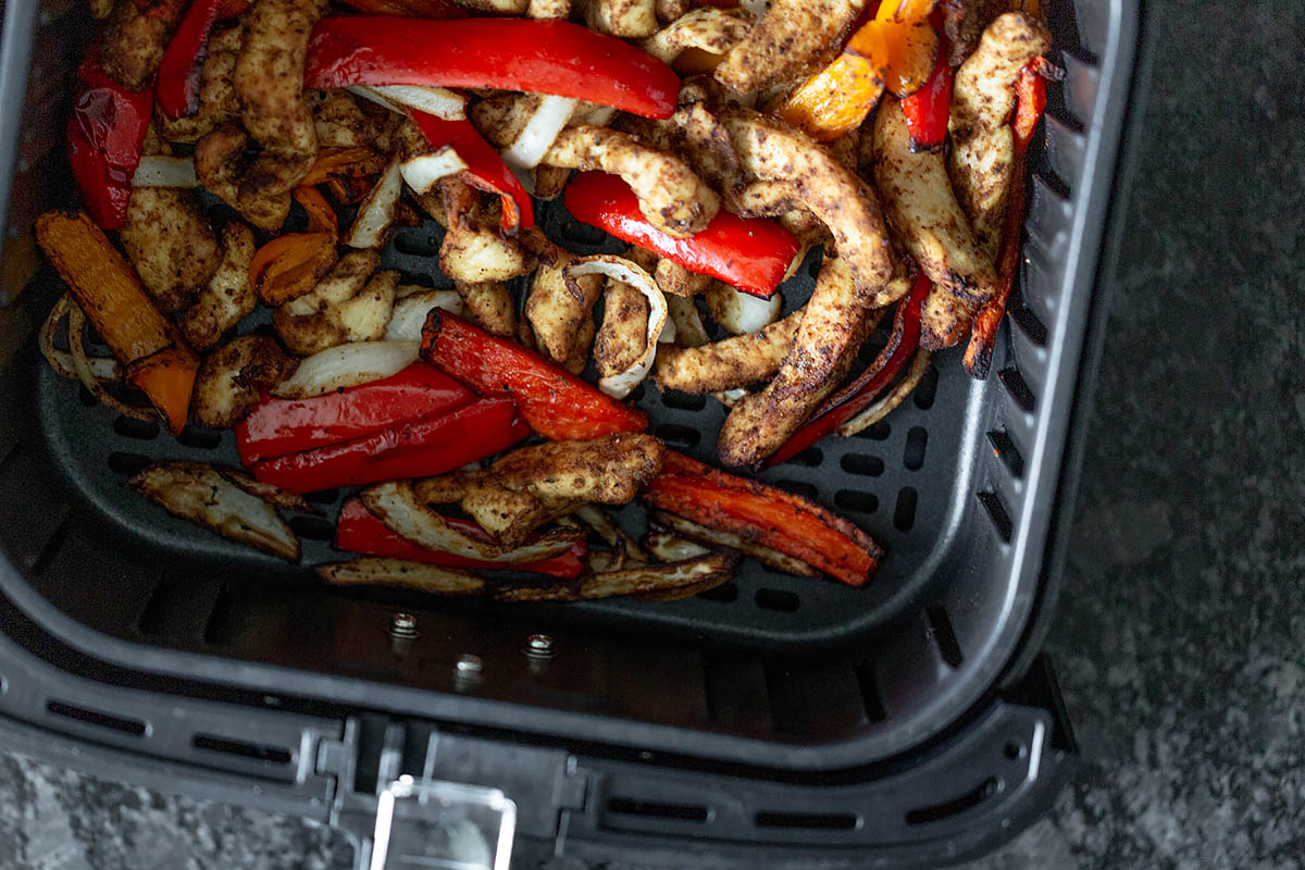 chicken fajitas in the air fryer