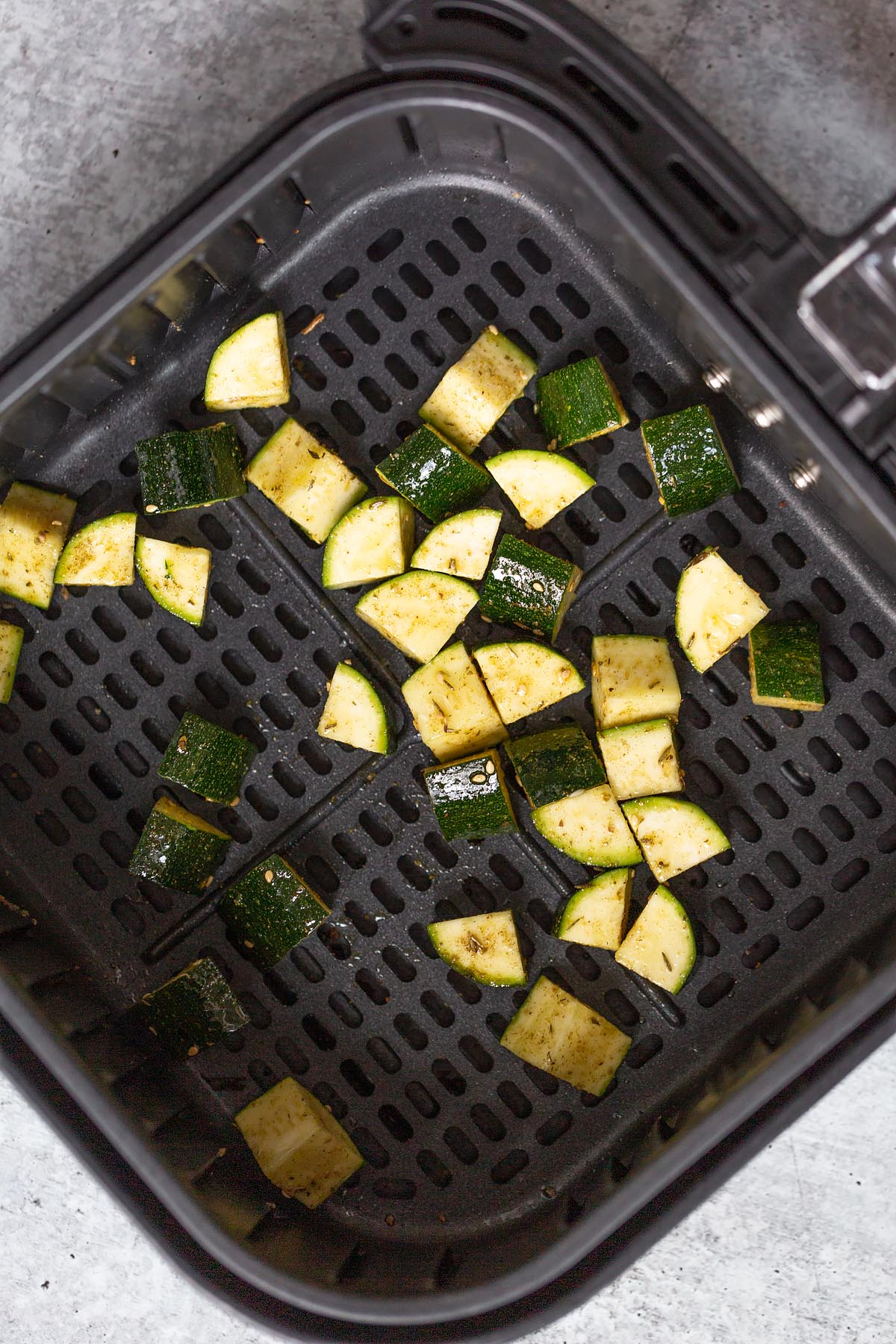 zucchini in an air fryer