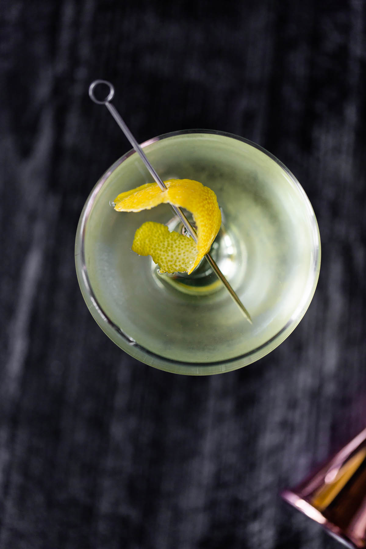 alaska cocktail from above
