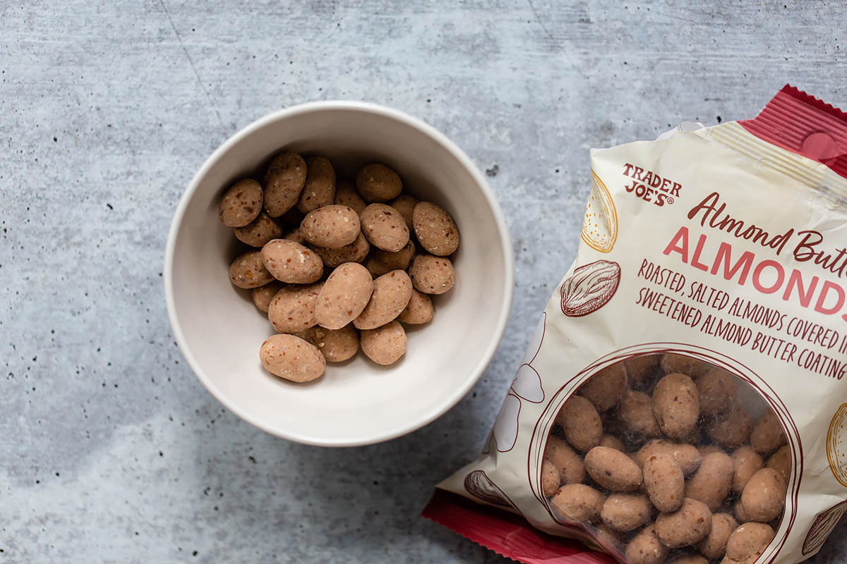 trader joes almond butter almonds