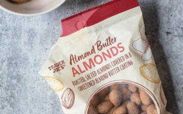 almond butter almonds - bag from Trader Joe's