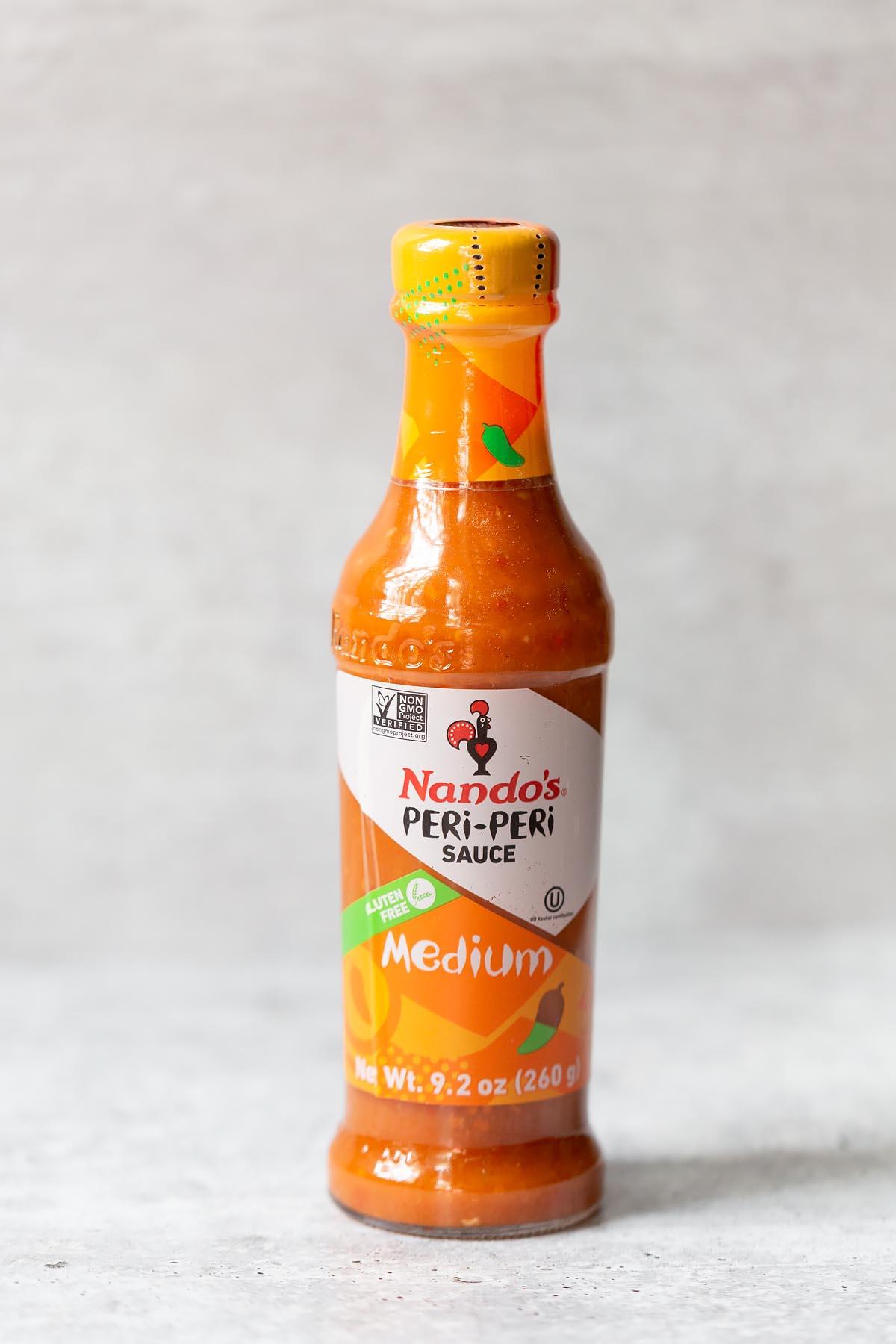 bottle of nandos peri peri sauce
