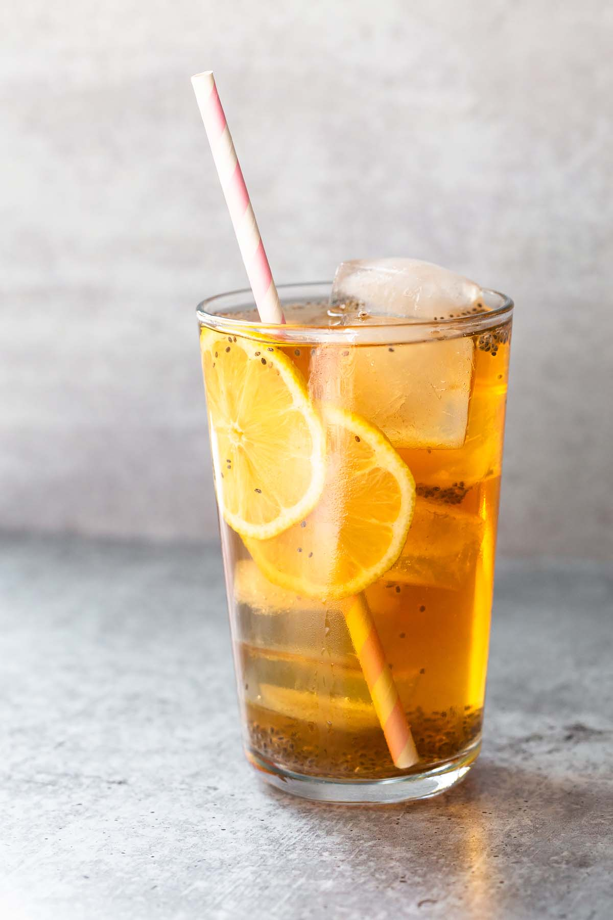 chia seed iced tea